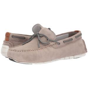 コールハーン メンズ ローファー シューズ・靴 Zerogrand Camp Moc Driver Rock Ridge/Gray Pinstripe|fermart-shoes