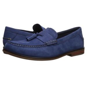 コールハーン Cole Haan メンズ ローファー シューズ・靴 Pinch Friday Tassel Contemporary Marine Blue Nubuck|fermart-shoes