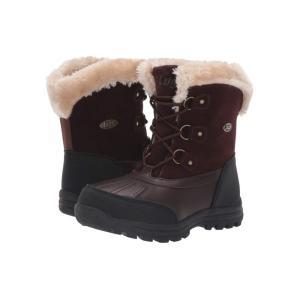 ラグズ Lugz レディース ブーツ シューズ・靴 Tallulah WR Red Brown/Black/Cream|fermart-shoes