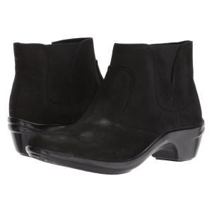 アラヴォン Aravon レディース ブーツ シューズ・靴 Kitt Bootie Black Leather|fermart-shoes