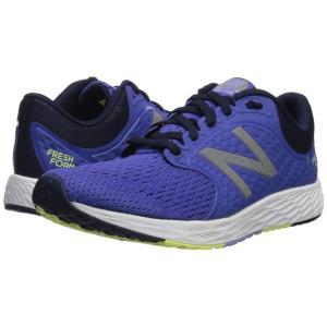 ニューバランス New Balance レディース シューズ・靴 ランニング・ウォーキング Fresh Foam Zante v4 Blue Iris/Pigment/Solar Yellow|fermart-shoes