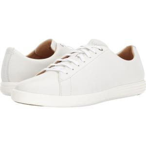 コールハーン メンズ スニーカー シューズ・靴 Grand Crosscourt II White Leather fermart-shoes