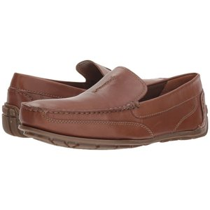 クラークス Clarks メンズ ローファー シューズ・靴 Benero Race Tan Smooth Leather|fermart-shoes
