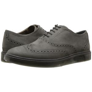 ハッシュパピー Hush Puppies メンズ 革靴・ビジネスシューズ シューズ・靴 Shiba Brogue Oxford Dark Grey Nubuck|fermart-shoes