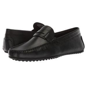 ハッシュパピー Hush Puppies メンズ ローファー シューズ・靴 Vastus Penny Black Leather|fermart-shoes
