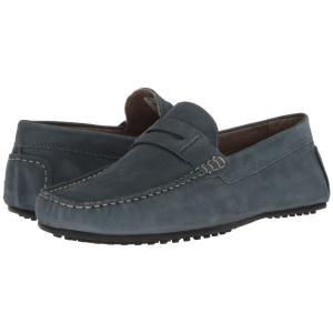 ハッシュパピー Hush Puppies メンズ ローファー シューズ・靴 Vastus Penny Vintage Indigo Nubuck|fermart-shoes
