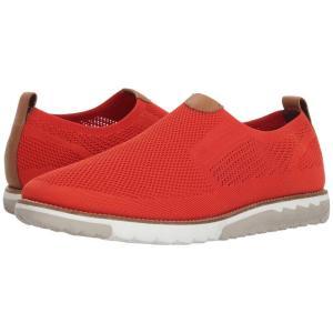 ハッシュパピー Hush Puppies メンズ スリッポン・フラット シューズ・靴 Expert MT Slip-On Dark Orange Knit/Nubuck|fermart-shoes