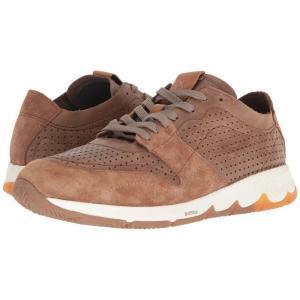 ハッシュパピー Hush Puppies メンズ スニーカー シューズ・靴 TS Field Sprint Brown Leather|fermart-shoes