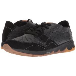 ハッシュパピー Hush Puppies メンズ スニーカー シューズ・靴 TS Field Sprint Black Leather|fermart-shoes