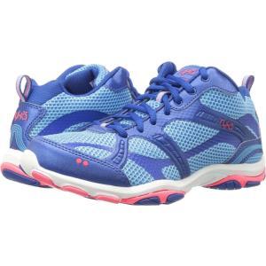 ライカ レディース スニーカー シューズ・靴 Enhance 2 Ethereal Blue/Royal Blue/Coral Rose|fermart-shoes