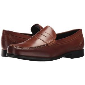 ロックポート メンズ ローファー シューズ・靴 Barnaby Lane Penny Brown|fermart-shoes
