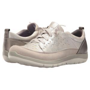 アラヴォン Aravon レディース スニーカー シューズ・靴 Wembly Lace Silver|fermart-shoes