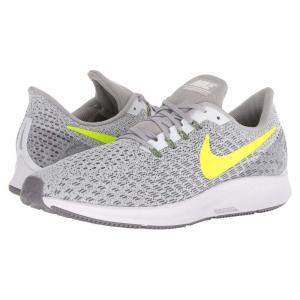 ナイキ Nike メンズ シューズ・靴 ランニング・ウォーキング Air Zoom Pegasus 35 White/Gunsmoke/Atmosphere Grey/Volt|fermart-shoes