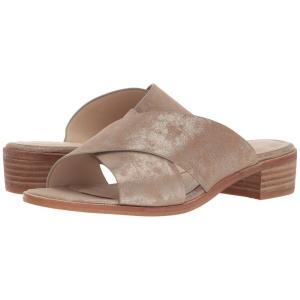 アイソラ Isola レディース サンダル・ミュール シューズ・靴 Ginata Anthracite Distressed Foil Suede|fermart-shoes