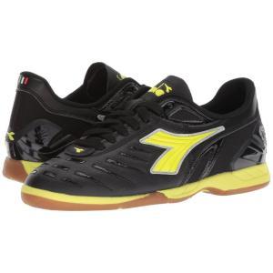 ディアドラ Diadora レディース サッカー シューズ・靴 Maracana 18 W ID Black/Fluo Yellow|fermart-shoes