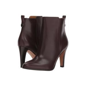 コーチ レディース ブーツ シューズ・靴 Jemma New Oxblood Leather|fermart-shoes