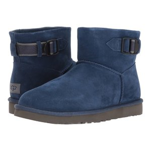 アグ UGG メンズ ブーツ シューズ・靴 Classic Mini Strap New Navy|fermart-shoes