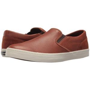 コールハーン メンズ スリッポン・フラット シューズ・靴 Nantucket Deck Slip-On British Tan Leather/Suede fermart-shoes