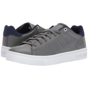ケースイス メンズ スニーカー シューズ・靴 Court Frasco Pewter/Patriot Blue|fermart-shoes