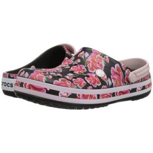 クロックス Crocs メンズ クロッグ シューズ・靴 Crocband Graphic III Clog Floral/Black|fermart-shoes