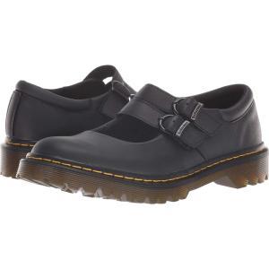 ドクターマーチン Dr. Martens レディース スリッポン・フラット シューズ・靴 Adena III Black Newark|fermart-shoes