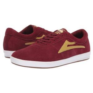 ラカイ Lakai メンズ シューズ・靴 Sheffield XLK Burgundy/Gold|fermart-shoes