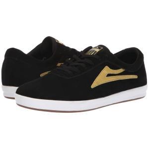 ラカイ Lakai メンズ スニーカー シューズ・靴 Sheffield XLK Black/Gold Suede|fermart-shoes