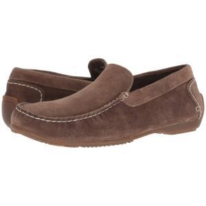 ハッシュパピー Hush Puppies メンズ スリッポン・フラット シューズ・靴 Schnauzer Slip-On Dark Taupe Suede|fermart-shoes