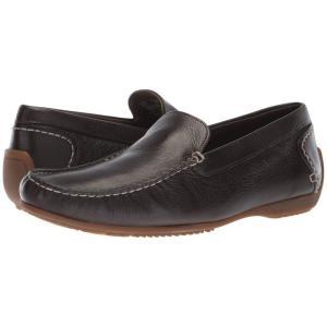 ハッシュパピー Hush Puppies メンズ スリッポン・フラット シューズ・靴 Schnauzer Slip-On Dark Brown Leather|fermart-shoes