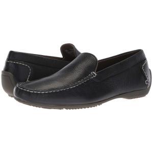ハッシュパピー Hush Puppies メンズ スリッポン・フラット シューズ・靴 Schnauzer Slip-On Black Leather|fermart-shoes