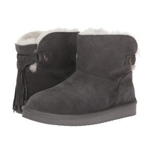 アグ Koolaburra by UGG レディース ブーツ シューズ・靴 Jaelyn Mini Stone Grey|fermart-shoes