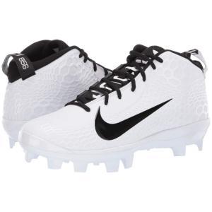 ナイキ Nike メンズ 野球 シューズ・靴 Force Zoom Trout 5 Pro MCS White/Black|fermart-shoes