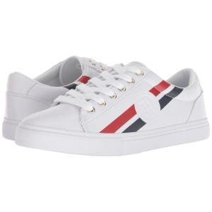 トミー ヒルフィガー Tommy Hilfiger レディース スニーカー シューズ・靴 Lindee White fermart-shoes