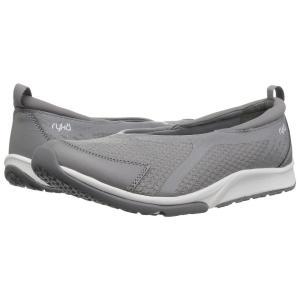 ライカ Ryka レディース スリッポン・フラット シューズ・靴 Finesse Frost Grey Fabric/PU|fermart-shoes