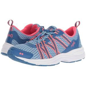 ライカ レディース スニーカー シューズ・靴 Aqua Sport Light Blue/Blue/Coral|fermart-shoes
