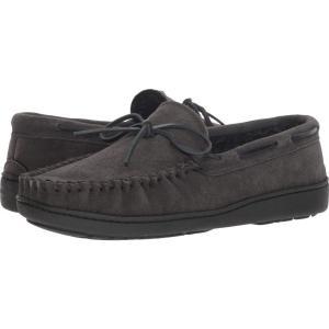 ミネトンカ Minnetonka メンズ ローファー シューズ・靴 Tory Traditional Trapper Charcoal|fermart-shoes