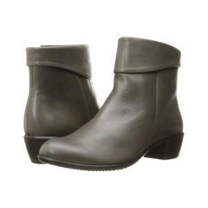 エコー ECCO レディース ブーツ シューズ・靴 Touch 35 Warm Grey/Warm Grey|fermart-shoes