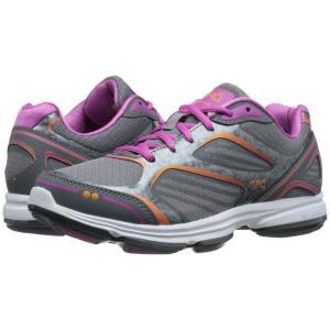 ライカ レディース スニーカー シューズ・靴 Devotion Plus Frost Grey/Steel Grey/Rose Violet/Rhythm Orange|fermart-shoes