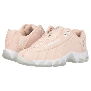 ケースイス K-Swiss レディース スニーカー シューズ・靴 ST329 CMF SB Creole Pink/White/Ice fermart-shoes