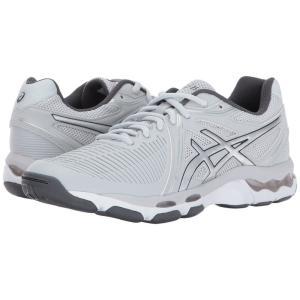 アシックス ASICS レディース シューズ・靴 バレーボール GEL-Netburner Ballistic Glacier Grey/Silver/Dark Grey|fermart-shoes
