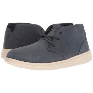 スケッチャーズ SKECHERS メンズ ブーツ シューズ・靴 Relaxed Fit: Status - Rolano Navy|fermart-shoes