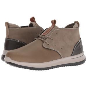スケッチャーズ SKECHERS メンズ スニーカー シューズ・靴 Delson - Clenton Taupe|fermart-shoes