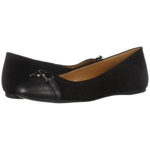 コーチ COACH レディース スリッポン・フラット シューズ・靴 Leila Black/Black|fermart-shoes