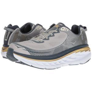ホカ オネオネ Hoka One One メンズ シューズ・靴 ランニング・ウォーキング Bondi 5 Cool Gray/Midnight Navy|fermart-shoes