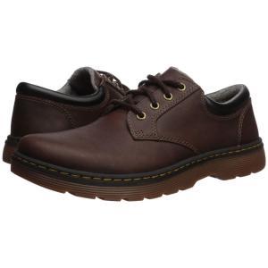 ドクターマーチン Dr. Martens メンズ 革靴・ビジネスシューズ シューズ・靴 Tipton Low Robson II Dark Brown/Black Forty Leather|fermart-shoes