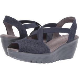 スケッチャーズ SKECHERS レディース サンダル・ミュール シューズ・靴 Parallel Jellyroll Navy|fermart-shoes