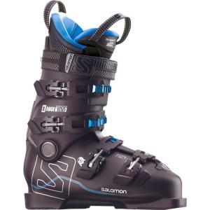 サロモン Salomon メンズ シューズ・靴 スキー・スノーボード X Max 100 Ski Boots Black/Metallic Black/Indigo Blue|fermart-shoes