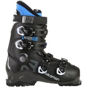 サロモン Salomon メンズ シューズ・靴 スキー・スノーボード X Access 70 Wide Ski Boots 2019 Black/Indigo Blue|fermart-shoes