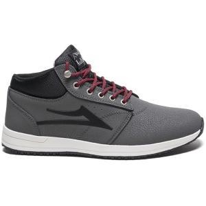 ラカイ Lakai メンズ スニーカー シューズ・靴 Griffin Mid Shoes Grey Nubuck|fermart-shoes