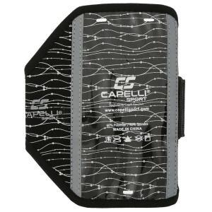 カペリ Capelli ユニセックス テックアクセサリー Sport IO Plus Reflective Armband Black|fermart-shoes